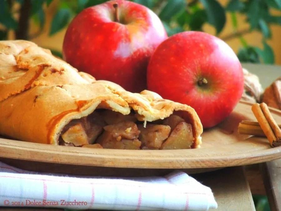 Strudel di mele senza farina e senza zucchero (3)