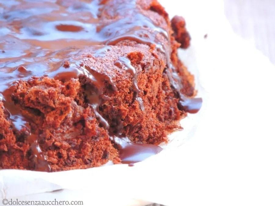Torta Pere e Cioccolato Senza Zucchero e Glutine