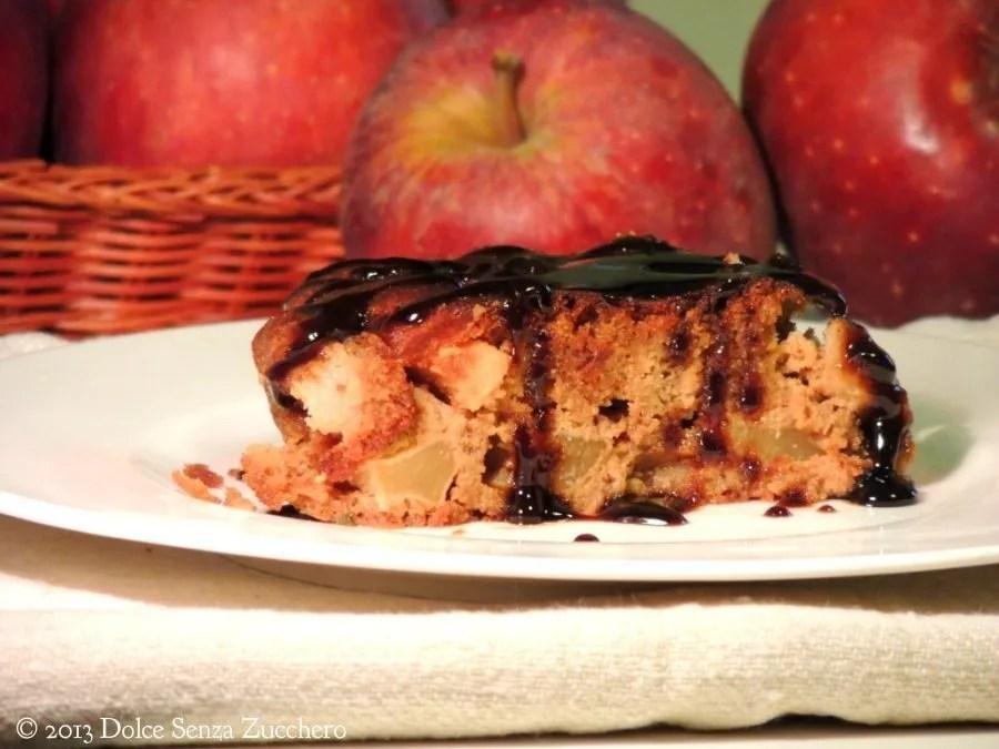 Torta di Mele con Caramello (Senza Farina)