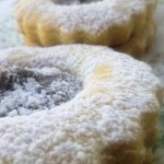 Biscottini con confettura di castagne e…..gran sorriso!!!