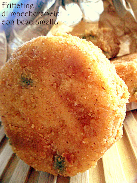 Frittatine di bucatini,per uno street food tutto napoletano!