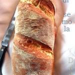 Pane di semola con crosta croccante,un amore a prima vista!!