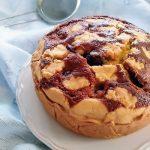 Torta o crostata con ciliegie e ricotta