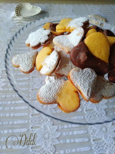 Biscotti con farina fioretto gialla