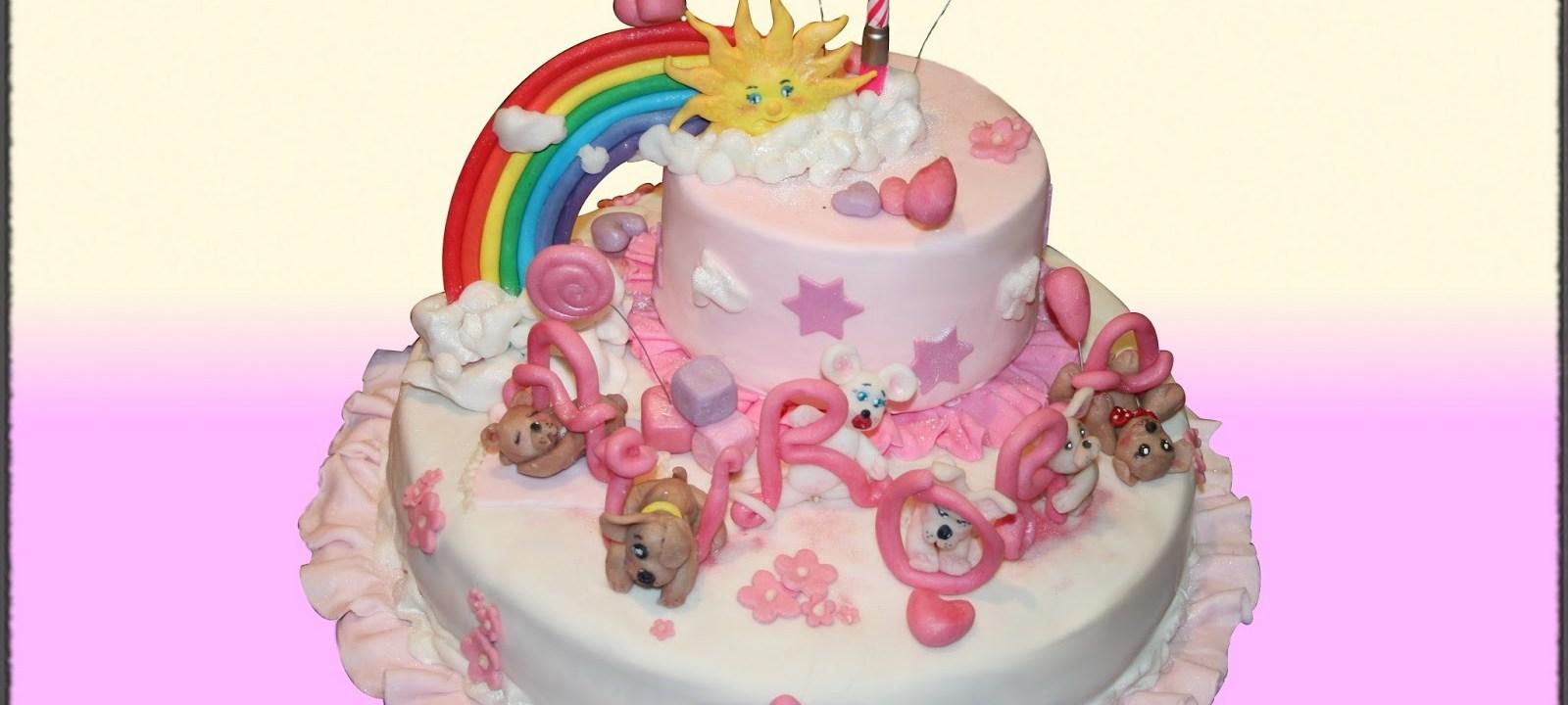 Buon primo compleanno... con una MUD CAKE