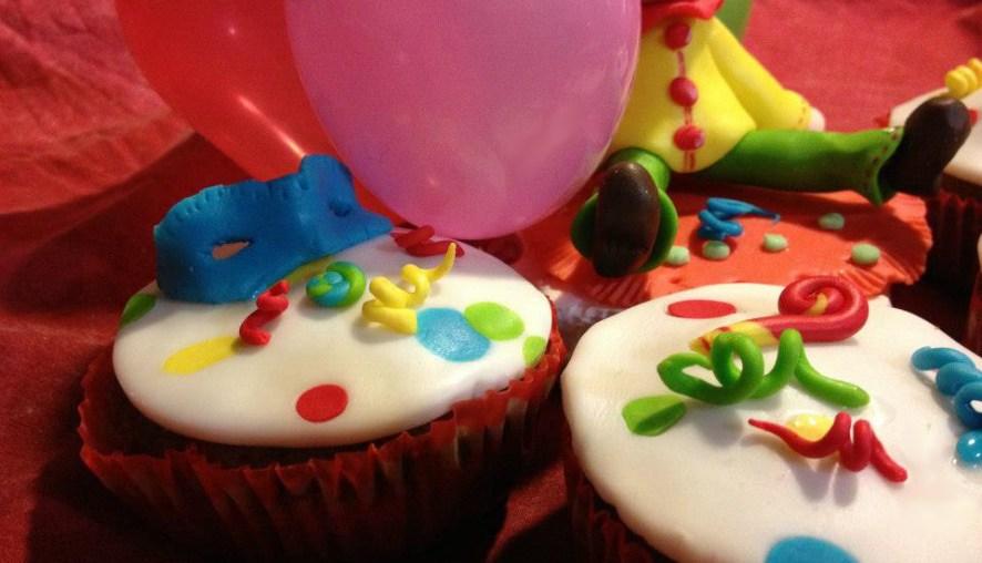 Cupcakes carnevale