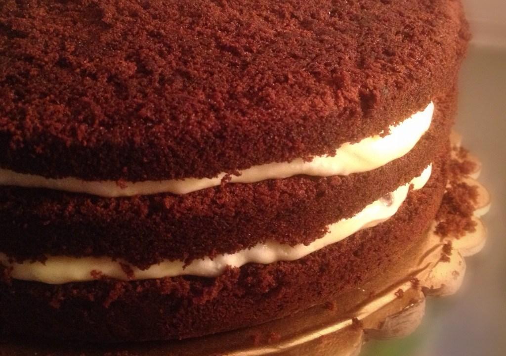 Be my Valentine... Devil food cake