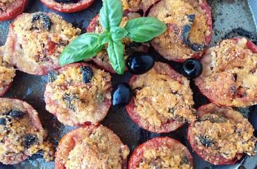 Pomodori ripieni con miglio e quinoa