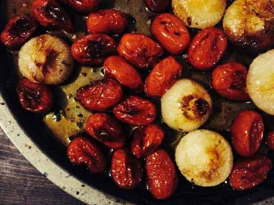 pomodori e cipolline 1