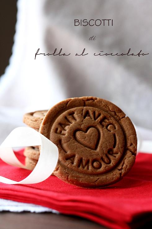 Biscotti frolla al cioccolato 1