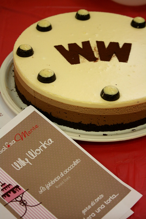Torta Willi Wonka