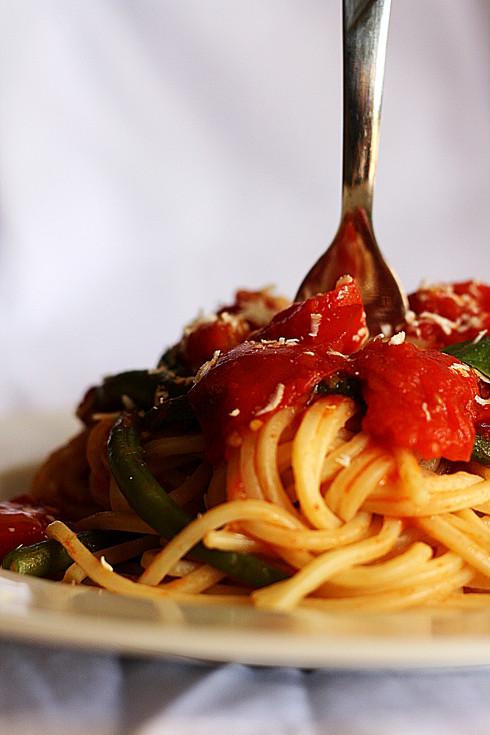 _Spaghetti fagiolini 2