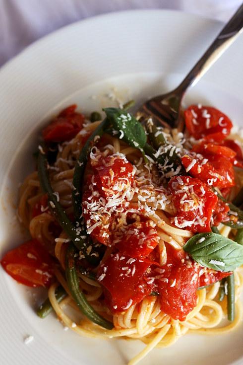 _Spaghetti fagiolini 3