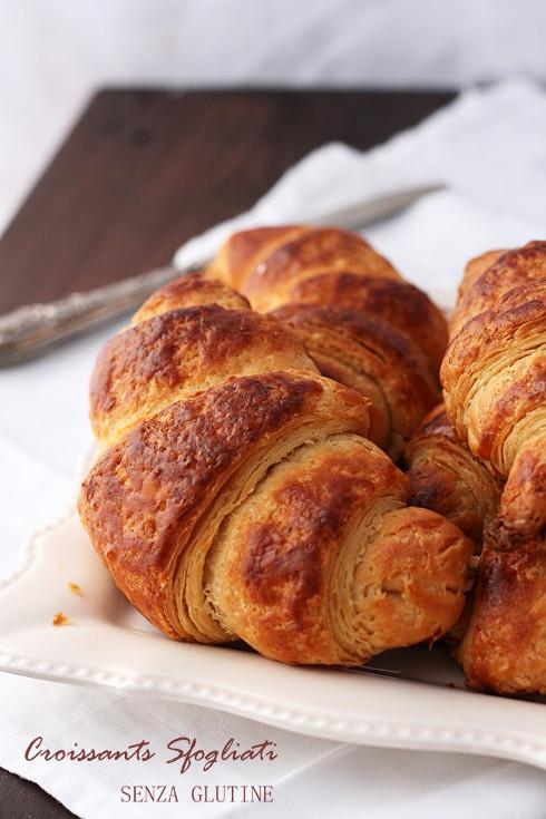 Croissants sfogliati senza glutine per MTC