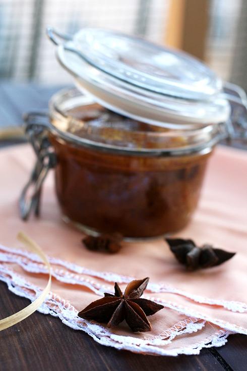 Confettura cahi e mele con anice stellato Ferber 1_