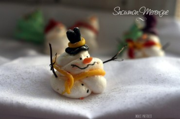 Spumini di Natale decorati