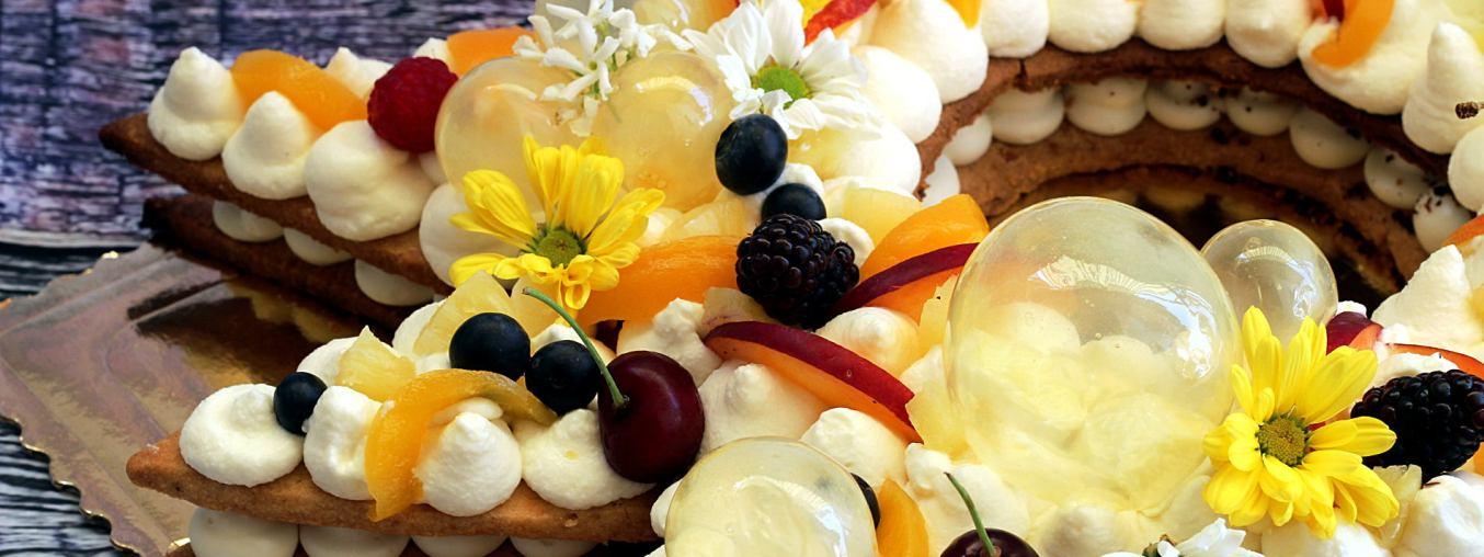 Cream tart con crema Namelaka