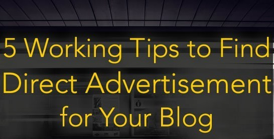 Tips in finding a direct Advertisers