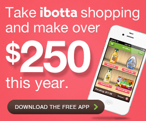 make almost $300 with the ibotta app each year