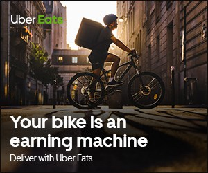 make money quickly delivering food with uber eats