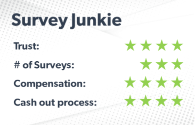 Survey Junkie rating