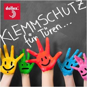 Fröhliche Kinderhände dank fingerschutz