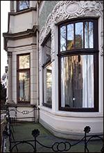 Jugendstilfenster nachgerüstet mit Dichtungen