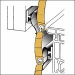 Rollox-Schiene Rolladendichtung Anwendung