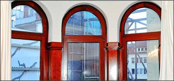 Denkmalschutz - Historische Fenster neu abgedichtet