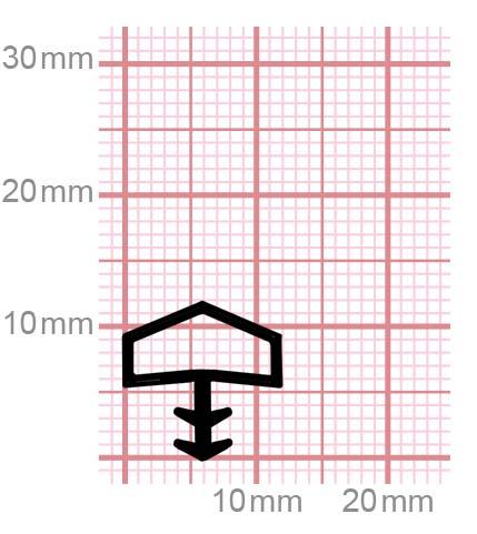 009-10 Zargendichtung für Zimmertüren aus Holz