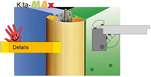 Türen Klemmschutz - Set für beide Seiten - KitaMax