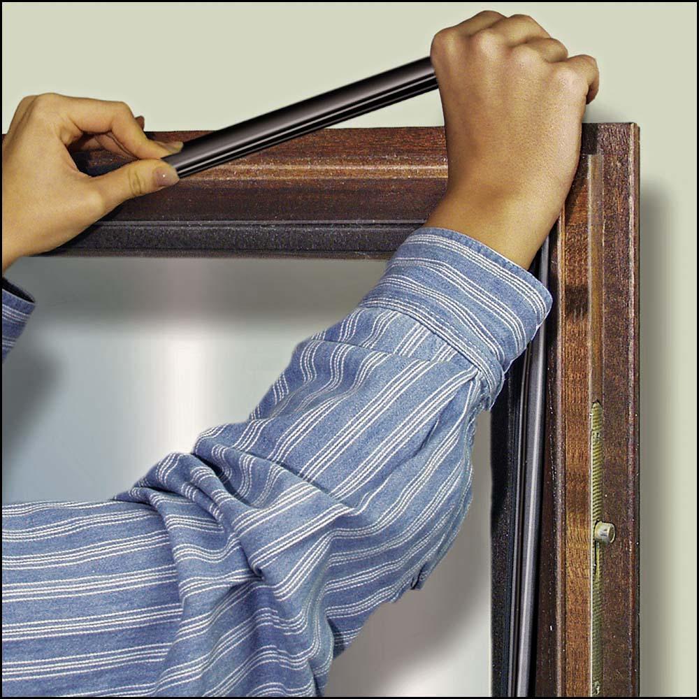 Fensterabdichtung - Mahagonifenster selbstabdichten