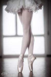 pointe ballet shoes