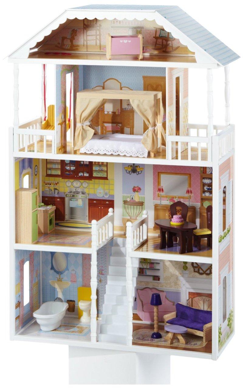 Kidkraft Savannah Dollhouse With Furniture Doll Shopaholicdoll Shopaholic Lovely Dolls And