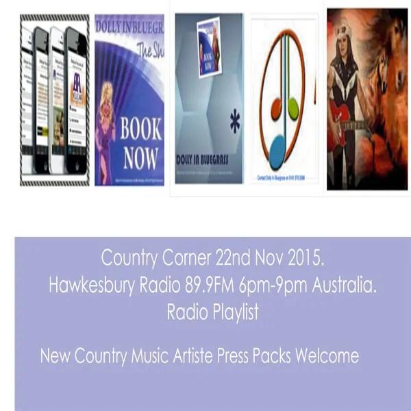Country Corner 22nd Nov 2015