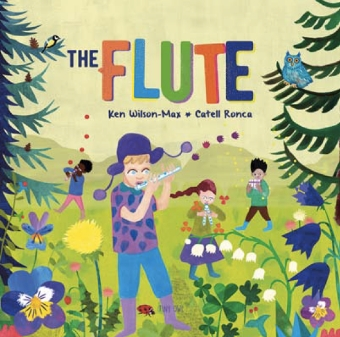The Flute, cover image and web link