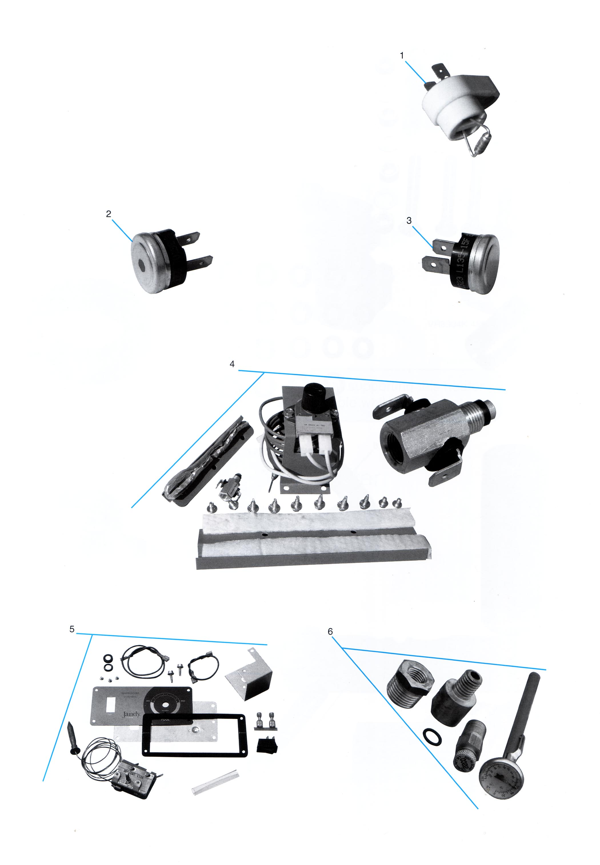 Jandy Electrical Parts