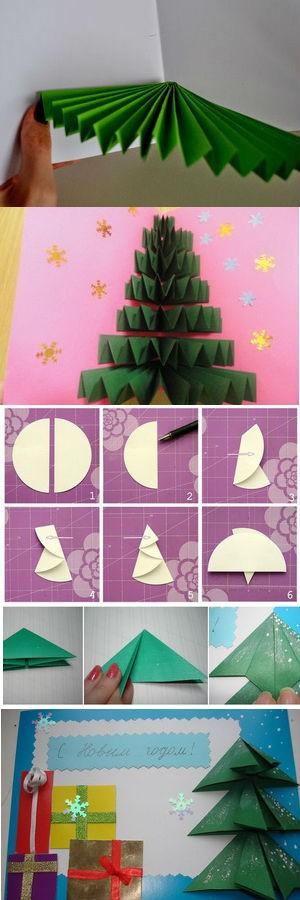 Рождестволық карточка өзіңіз: идеялар, идеялар, нұсқаулық