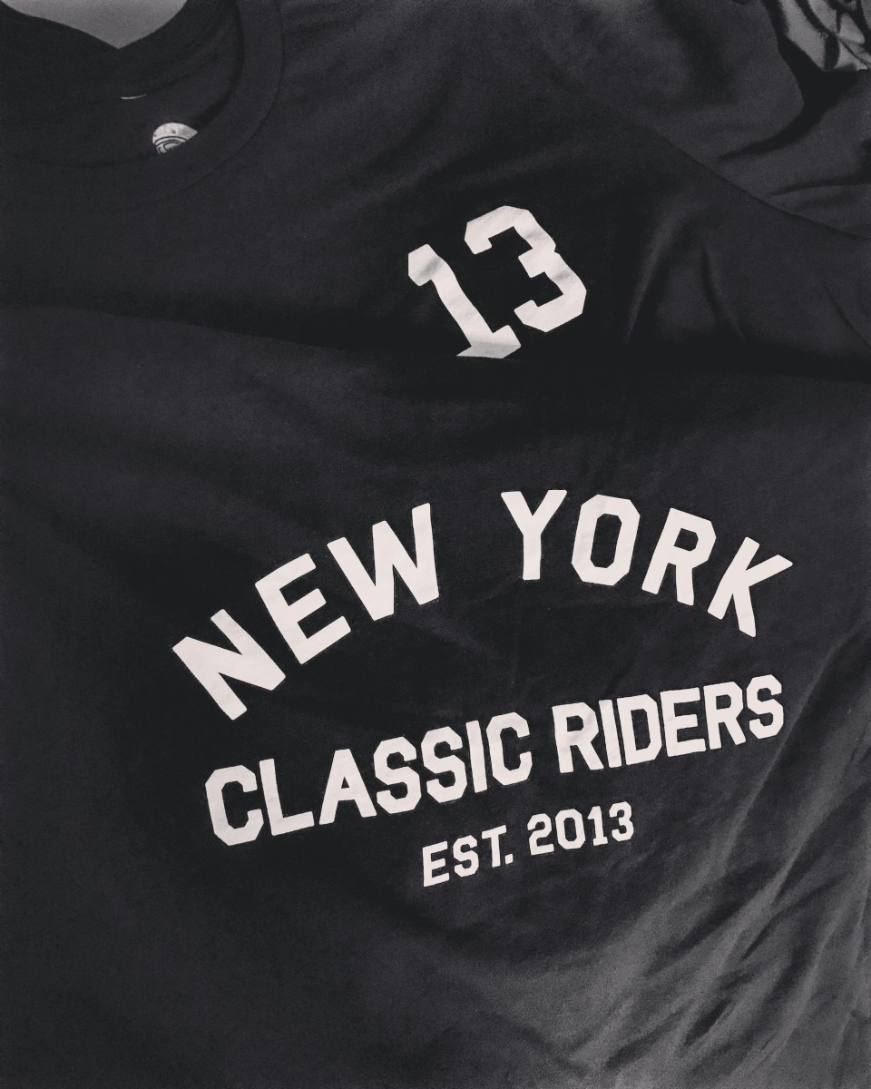 NY Classic Riders Tees are back !