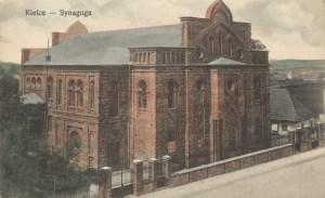 Synagoga napocztówce zXIX wieku