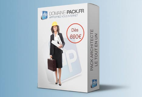 Pack Site Web Architecte