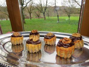Gâteaux aux noix du domaine