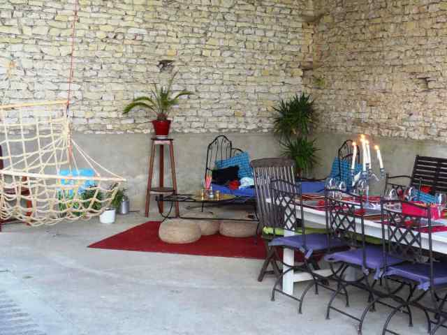 grange lounge du gite proche sancerre