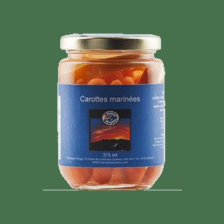 carottes marinées