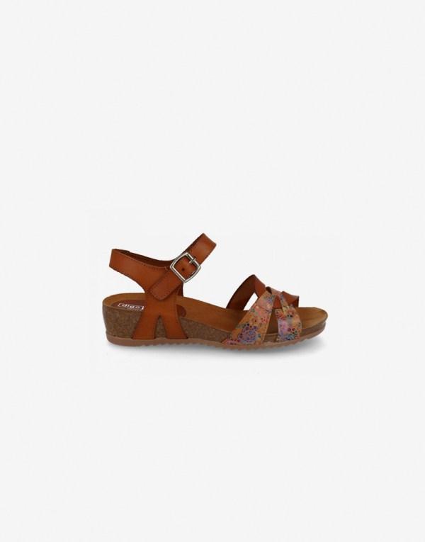 Sandalia Señora de Piel