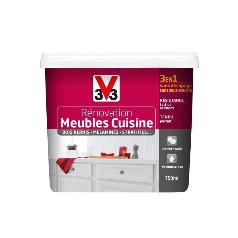 peinture renovation meubles cuisine v33 750ml 2l