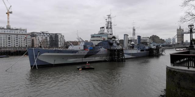 HMS Belfast a Tower Bridge