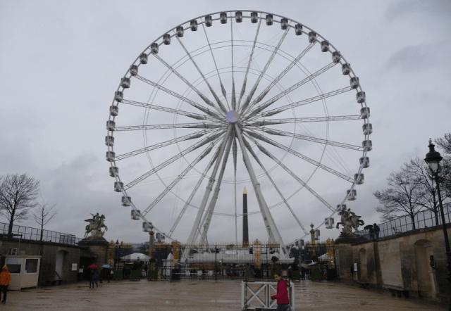 Ruské kolo na náměstí Concorde