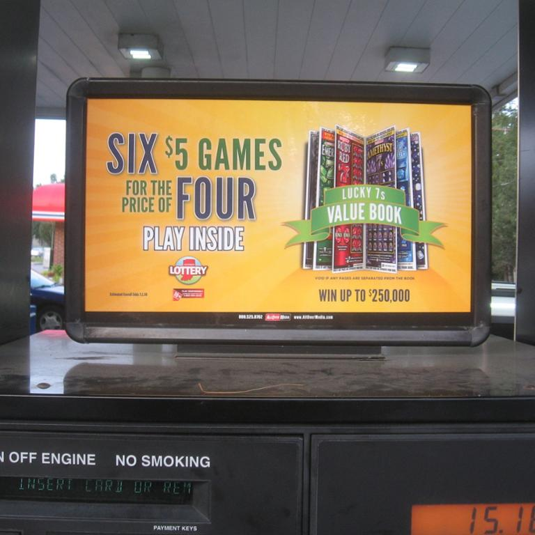 Gas Station Advertising Gas Pump Toppers By AllOver Media