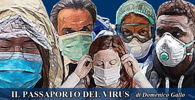 Epidemia e passaporto del virus